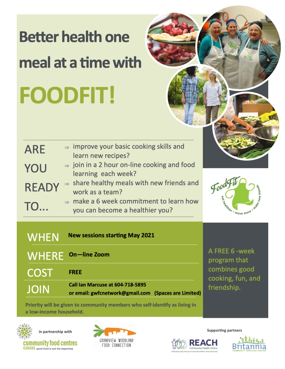 FoodFit Poster May 2021